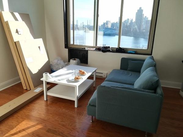 mieszkanie, nowy jork, NYC, kinga wittenbeck, www.wittalna.pl, mieszkanie, megle, wprowadzka